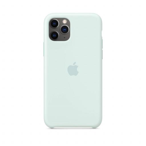 Apple Silikondeksel til iPhone 11 Pro - Sjøskum