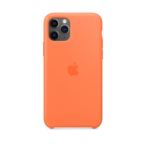 Apple Silikondeksel til iPhone 11 Pro - Vitamin C