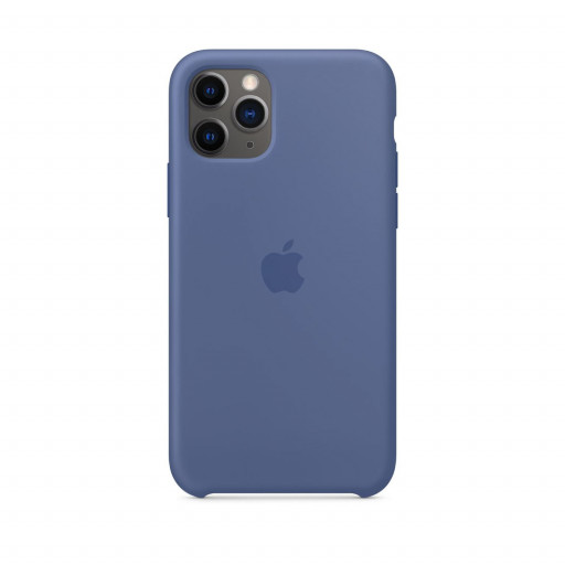 Apple Silikondeksel til iPhone 11 Pro - Linblå