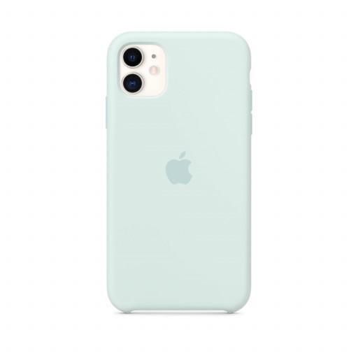 Apple Silikondeksel til iPhone 11 - Sjøskum