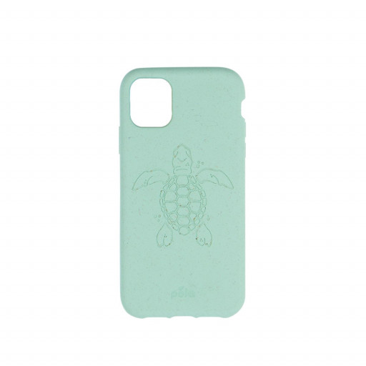 Pela Eco-Friendly deksel for iPhone 11 - Turtle Edition