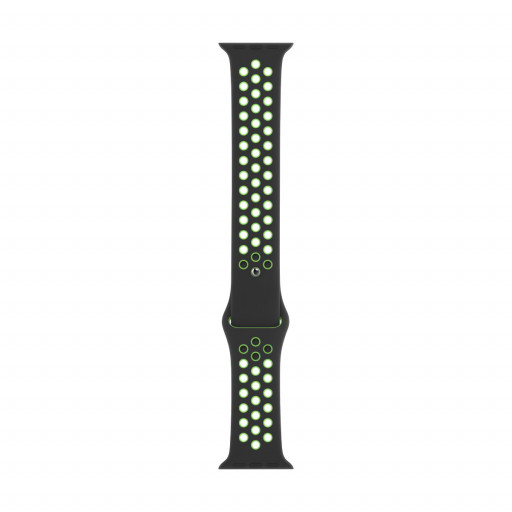 Apple Watch 40 mm Nike Sport Band - Black/Lime Blast