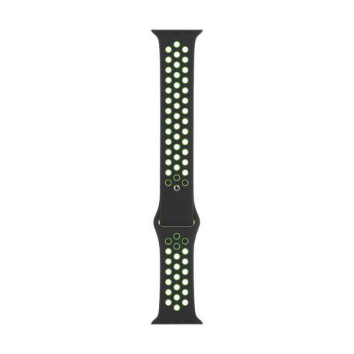 Apple Watch 44 mm Nike Sport Band - Black/Lime Blast