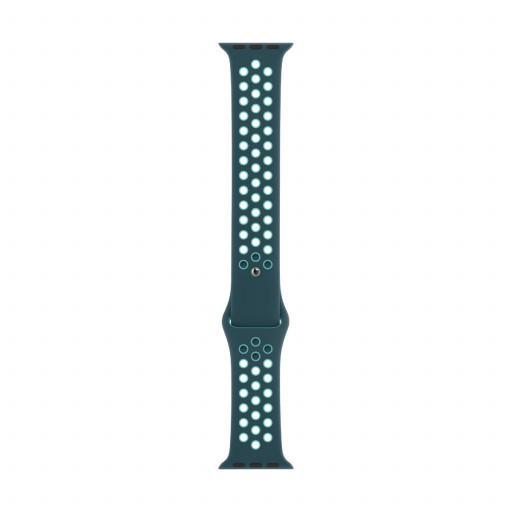 Apple Watch 44 mm Nike Sport Band - Midnight Turquoise/Aurora Green