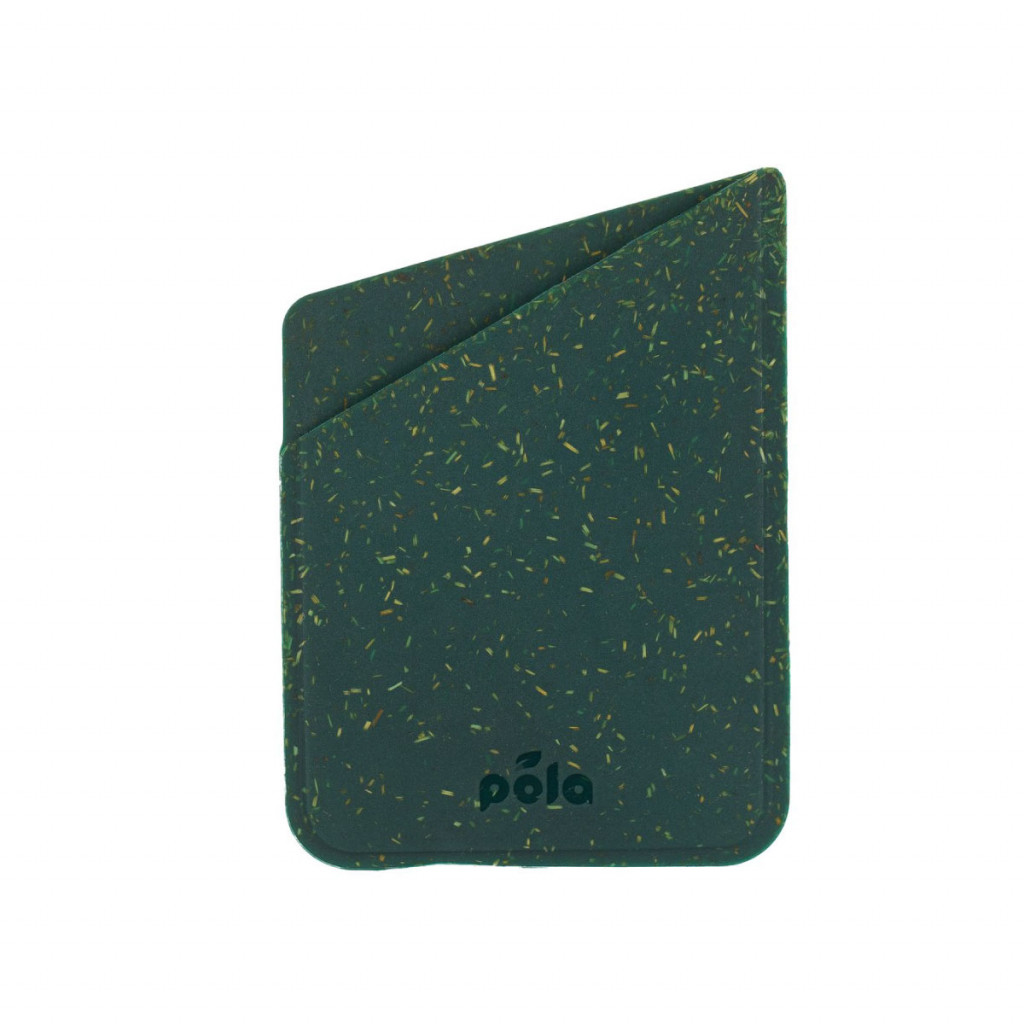 Pela Eco-Friendly kortholder til iPhone-deksel - Green