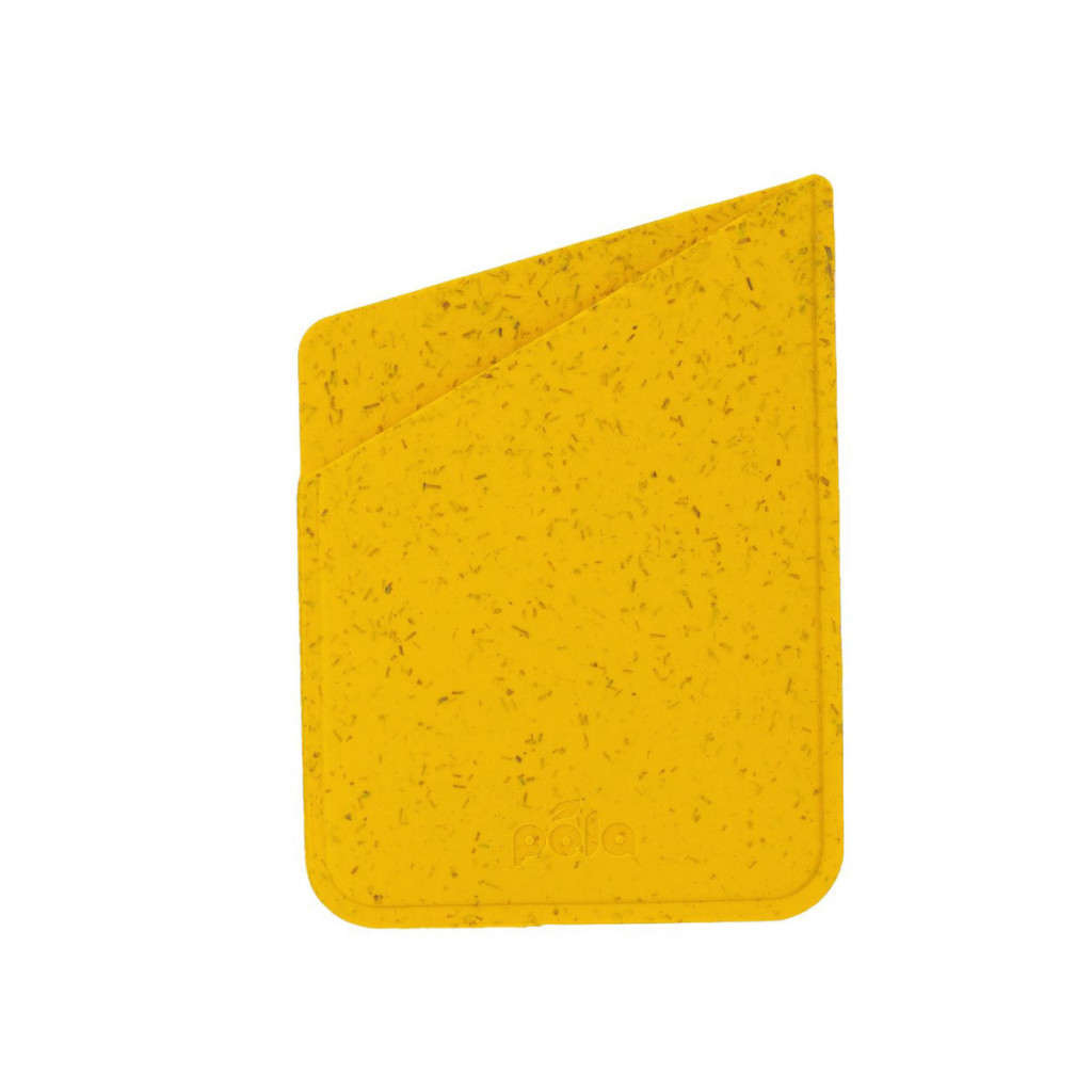Pela Eco-Friendly kortholder til iPhone-deksel - Yellow