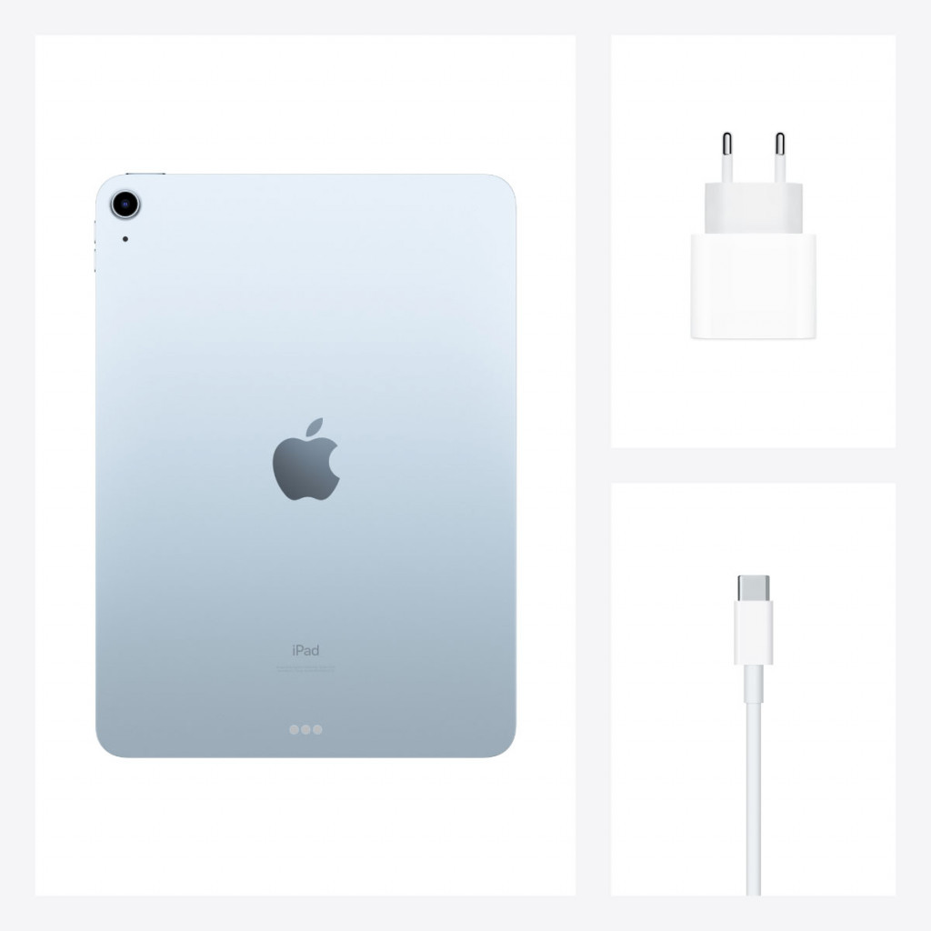 iPad Air 10.9-tommer (2020) Wi-Fi 256GB Himmelblå