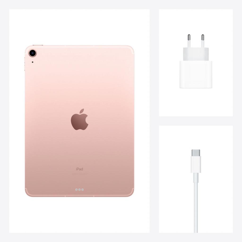 iPad Air 10.9-tommer (2020) Wi-Fi + Cellular 64GB Rosegull