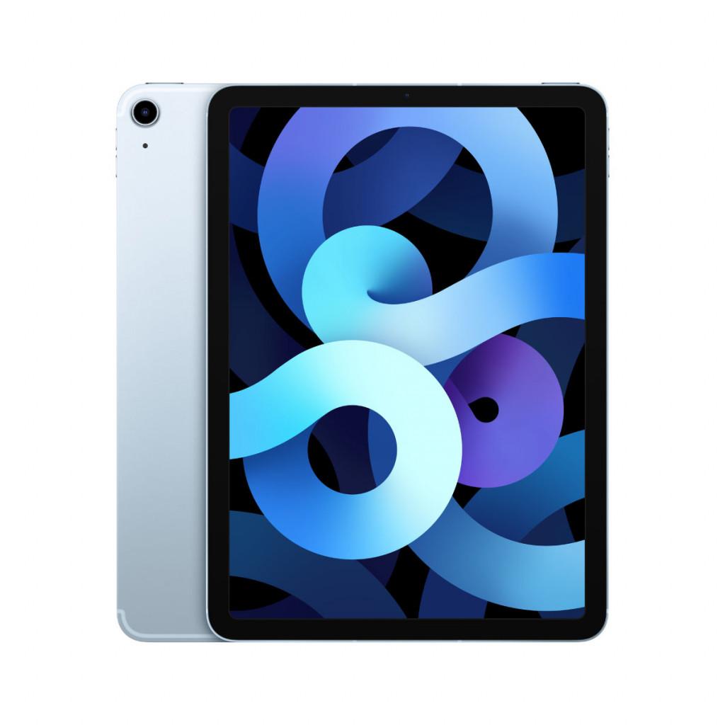 iPad Air 10.9-tommer (2020) Wi-Fi + Cellular 64GB Himmelblå