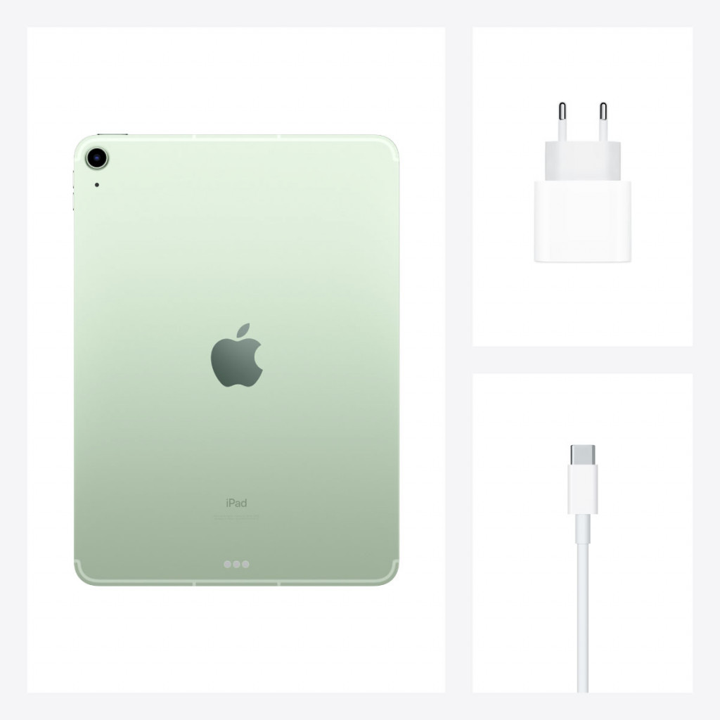 iPad Air 10.9-tommer (2020) Wi-Fi + Cellular 64GB Grønn