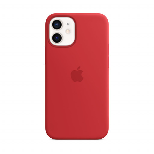 Apple Silikondeksel med MagSafe til iPhone 12 mini – (PRODUCT)RED