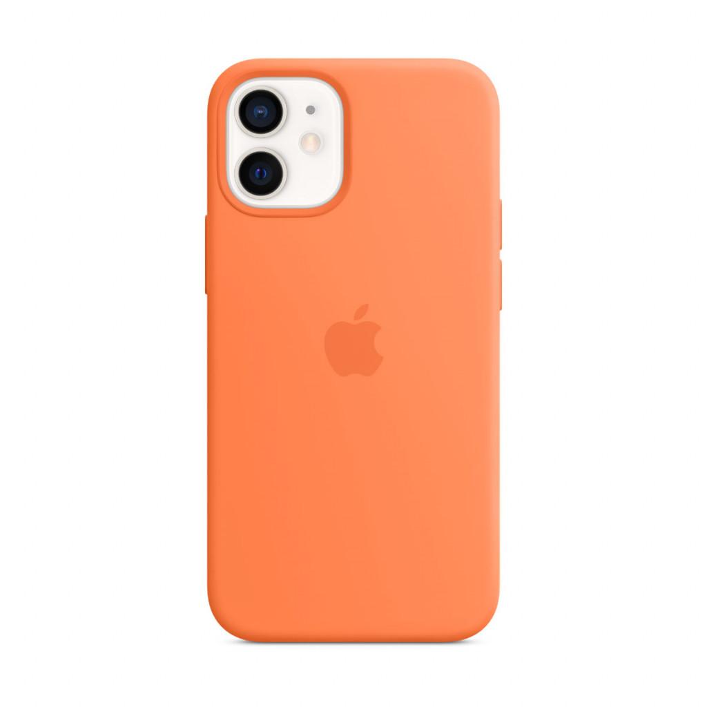 Apple Silikondeksel med MagSafe til iPhone 12 mini – Kumkvat