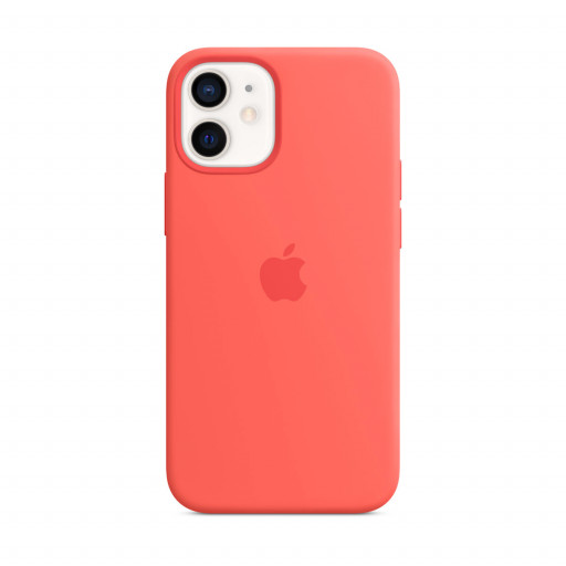 Apple Silikondeksel med MagSafe til iPhone 12 mini – Rosa Sitrus