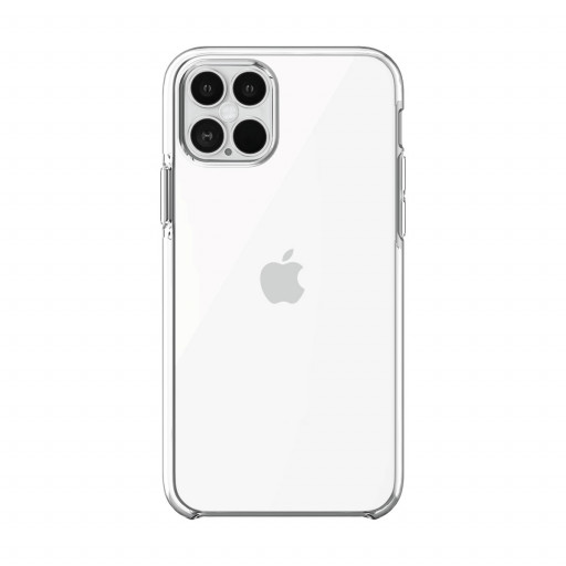 Puro Impact Clear deksel til iPhone 12 Pro / 12 – Klar