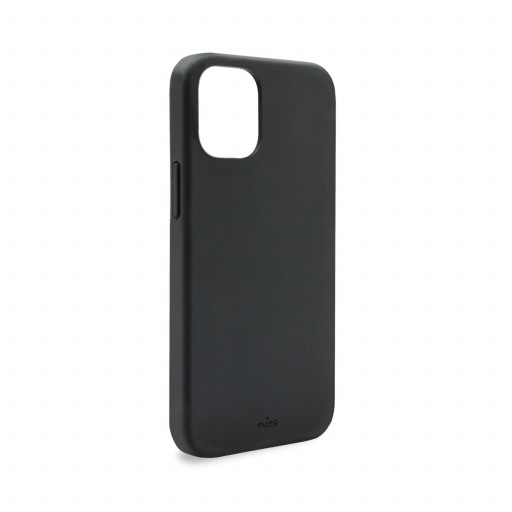 Puro Icon deksel til iPhone 12 Pro / 12 - Svart