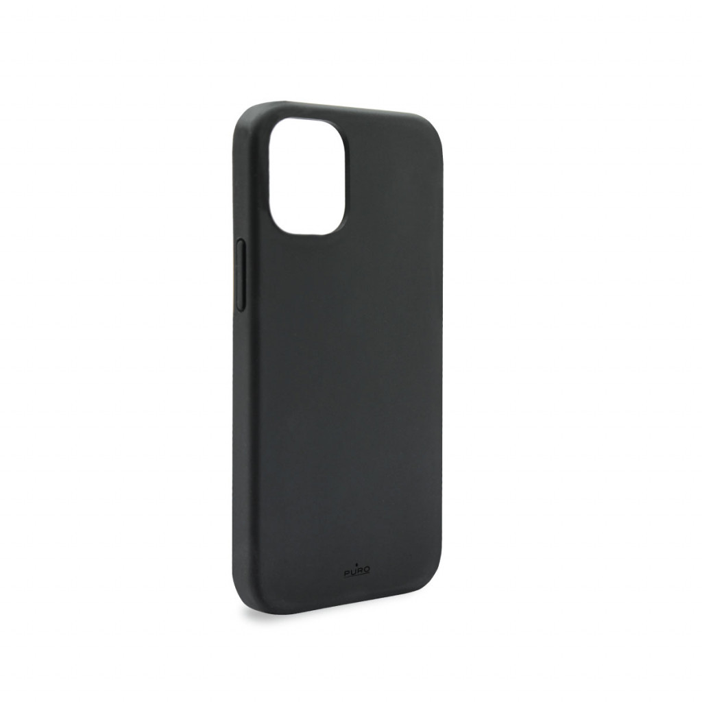 Puro Icon deksel til iPhone 12 mini - Svart