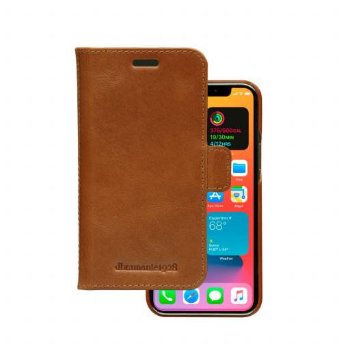 Dbramante Lynge Wallet for iPhone 12 mini - Tan