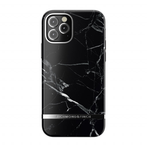 Richmond & Finch deksel til iPhone 12 Pro / 12 - Black Marble