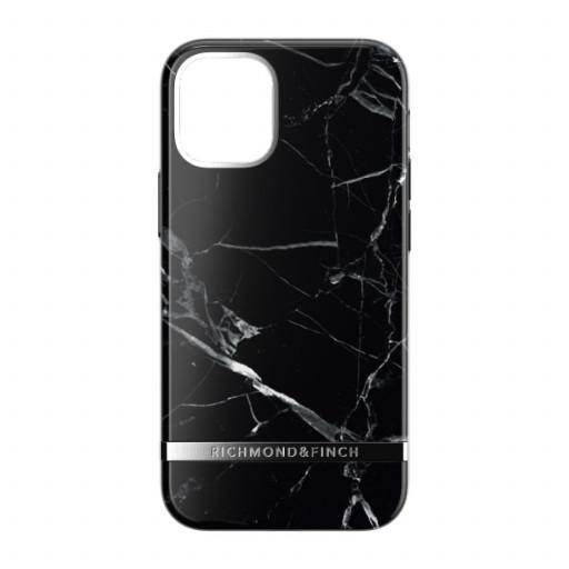 Richmond & Finch deksel til iPhone 12 mini - Black Marble