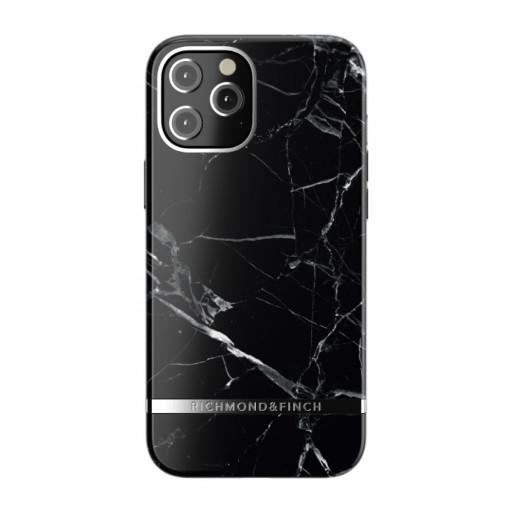 Richmond & Finch deksel til iPhone 12 Pro Max - Black Marble