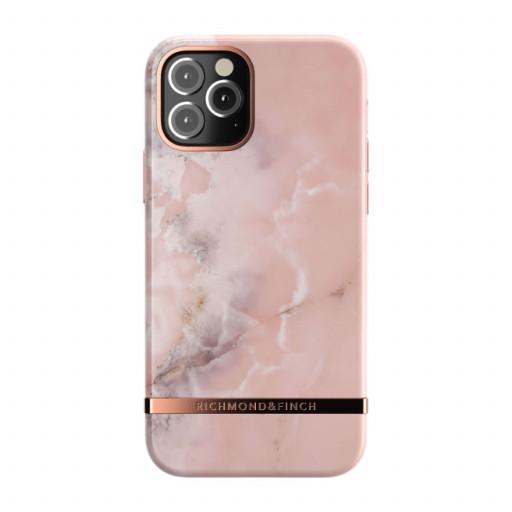 Richmond & Finch deksel til iPhone 12 Pro / 12 - Pink Marble