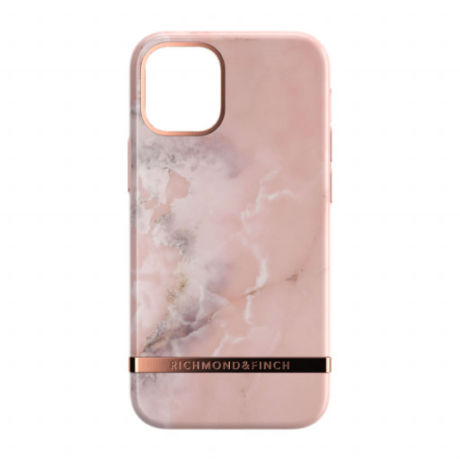 Richmond & Finch deksel til iPhone 12 mini - Pink Marble