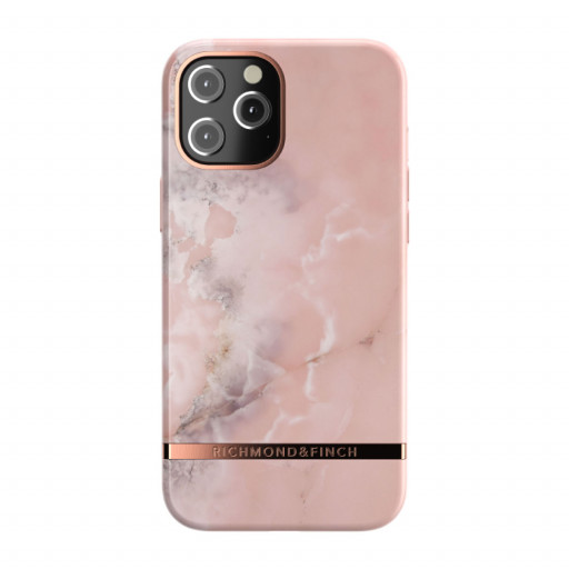 Richmond & Finch deksel til iPhone 12 Pro Max - Pink Marble