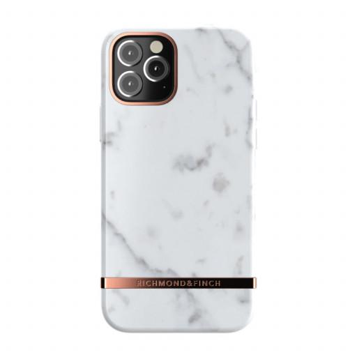 Richmond & Finch deksel til iPhone 12 Pro / 12 - White Marble