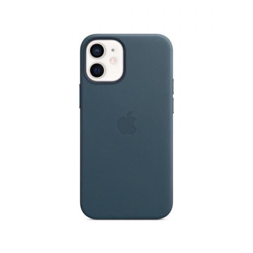 Apple Skinndeksel med MagSafe til iPhone 12 Mini – Baltisk Blå
