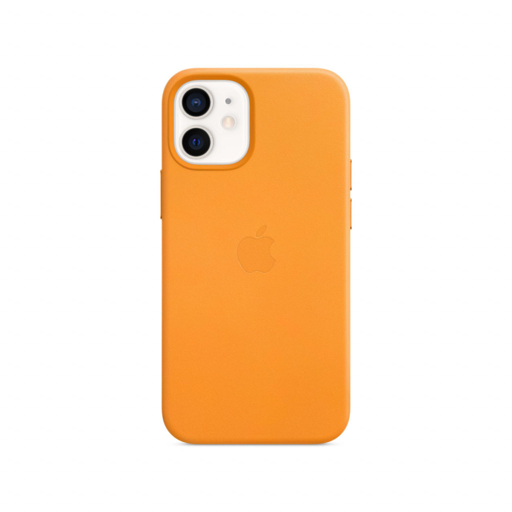 Apple Skinndeksel med MagSafe til iPhone 12 Mini – Gullvalmue