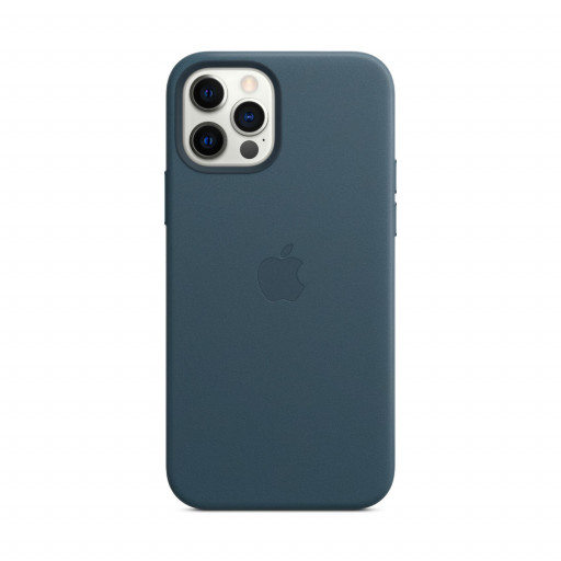 Apple Skinndeksel med MagSafe til iPhone 12 Pro / 12 – Baltisk Blå