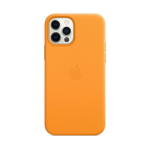 Apple Skinndeksel med MagSafe til iPhone 12 Pro / 12 – Gullvalmue