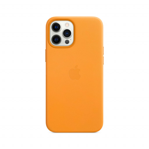 Apple Skinndeksel med MagSafe til iPhone 12 Pro Max – Gullvalmue