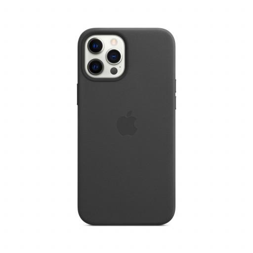 Apple Skinndeksel med MagSafe til iPhone 12 Pro Max – Svart