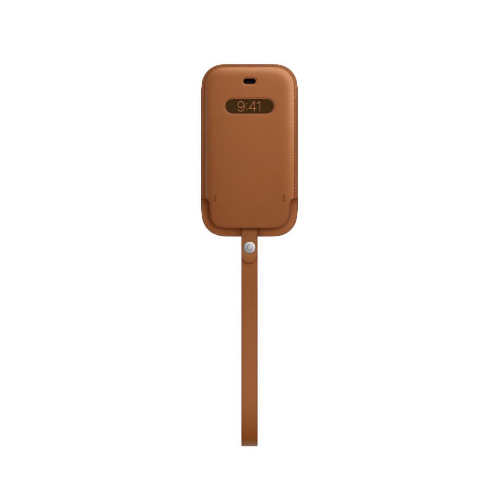 Apple Skinnmappe med MagSafe til iPhone 12 Mini – Lærbrun