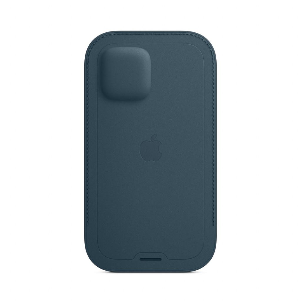 Apple Skinnmappe med MagSafe til iPhone 12 Pro / 12 – Baltisk Blå