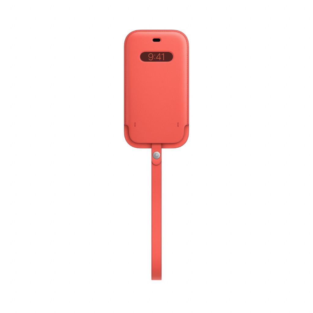 Apple Skinnmappe med MagSafe til iPhone 12 Pro / 12 – Rosa Sitrus