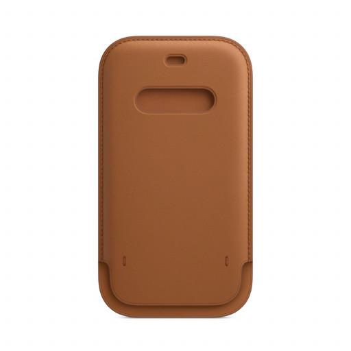 Apple Skinnmappe med MagSafe til iPhone 12 Pro / 12 – Lærbrun