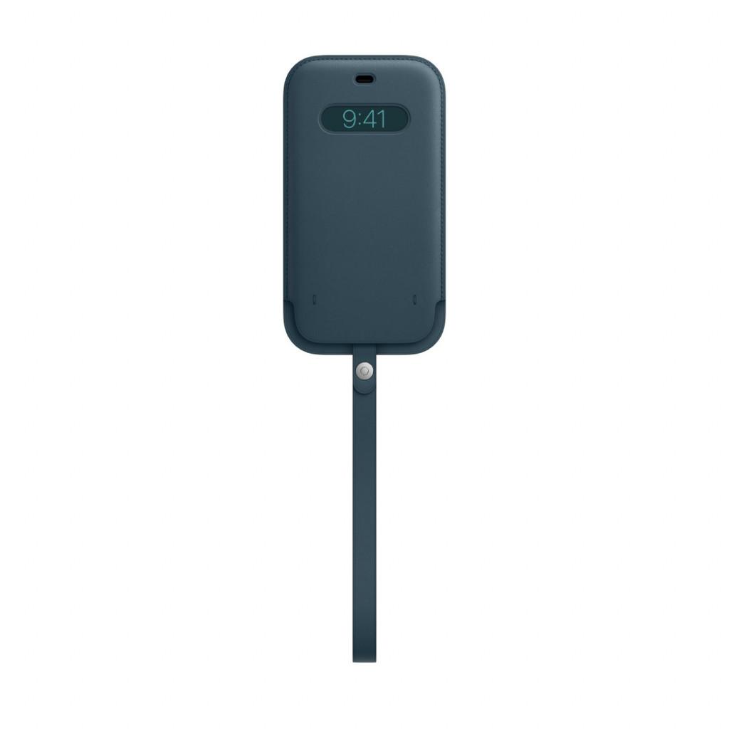 Apple Skinnmappe med MagSafe til iPhone 12 Pro Max – Baltisk Blå