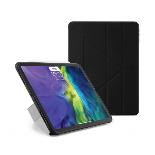 Pipetto Origami cover for iPad Air 10.9-tommer (4.gen) - Svart