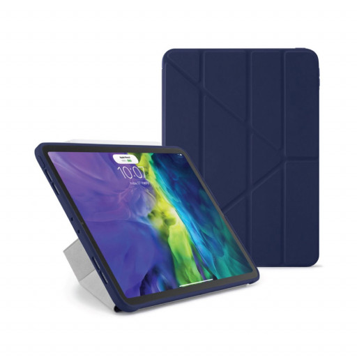 Pipetto Origami cover for iPad Air 10.9-tommer (4.gen) - Mørkeblå