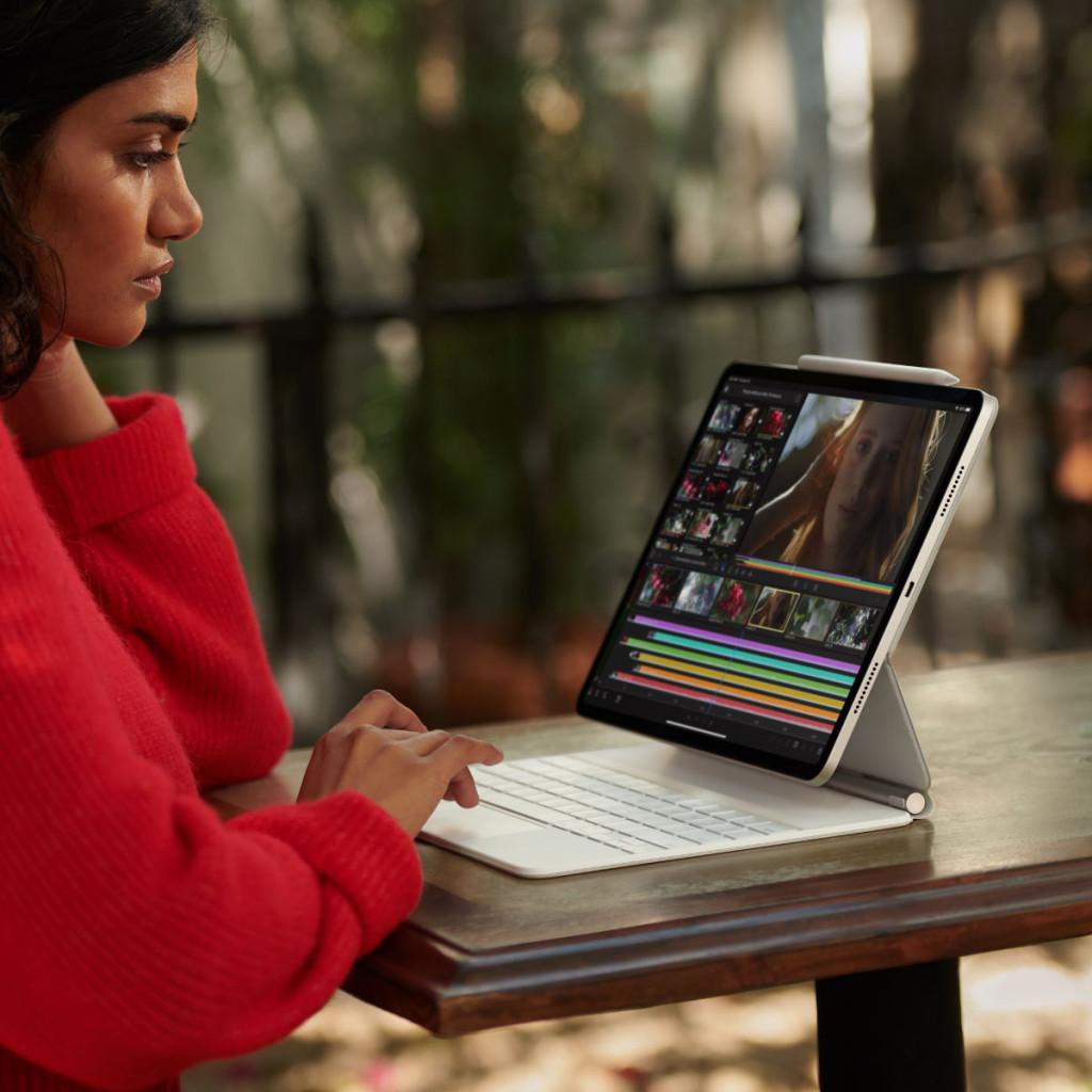 iPad Pro 11-tommer (2021) Wi-Fi + Cellular 128GB ...