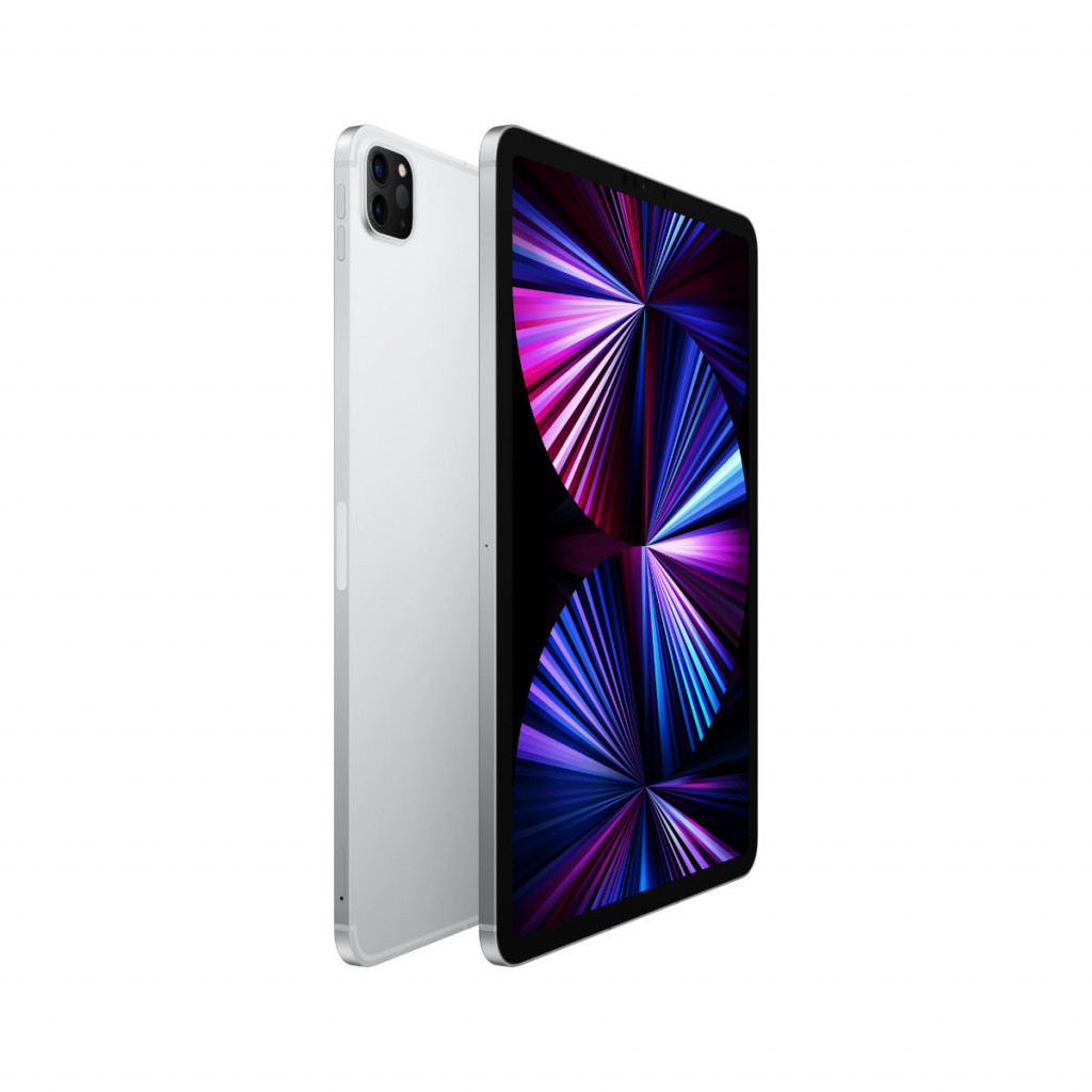 iPad Pro 11-tommer (2021) Wi-Fi + Cellular 256GB Sølv | Pippin