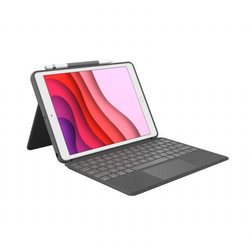 Logitech Combo Touch Keyboard cover for iPad 10.2-tommer