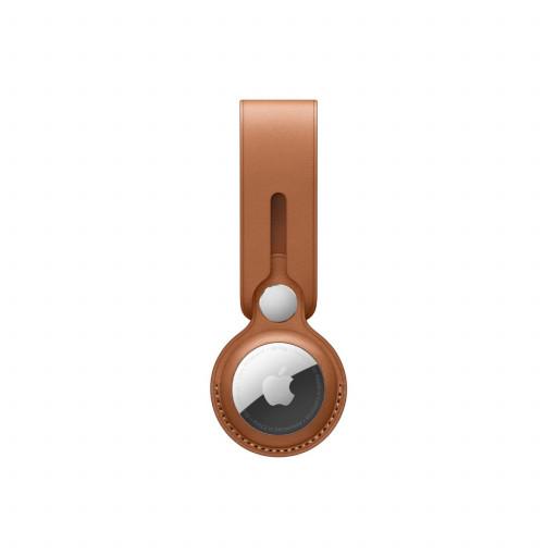 Apple AirTag Leather Loop - Lærbrun