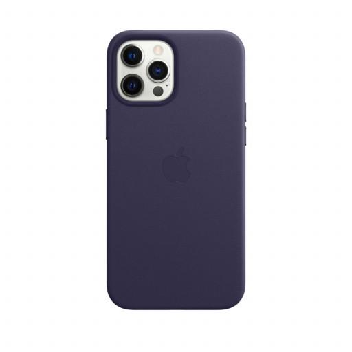 Apple Skinndeksel med MagSafe til iPhone 12 Pro Max – Dyp Fiolett