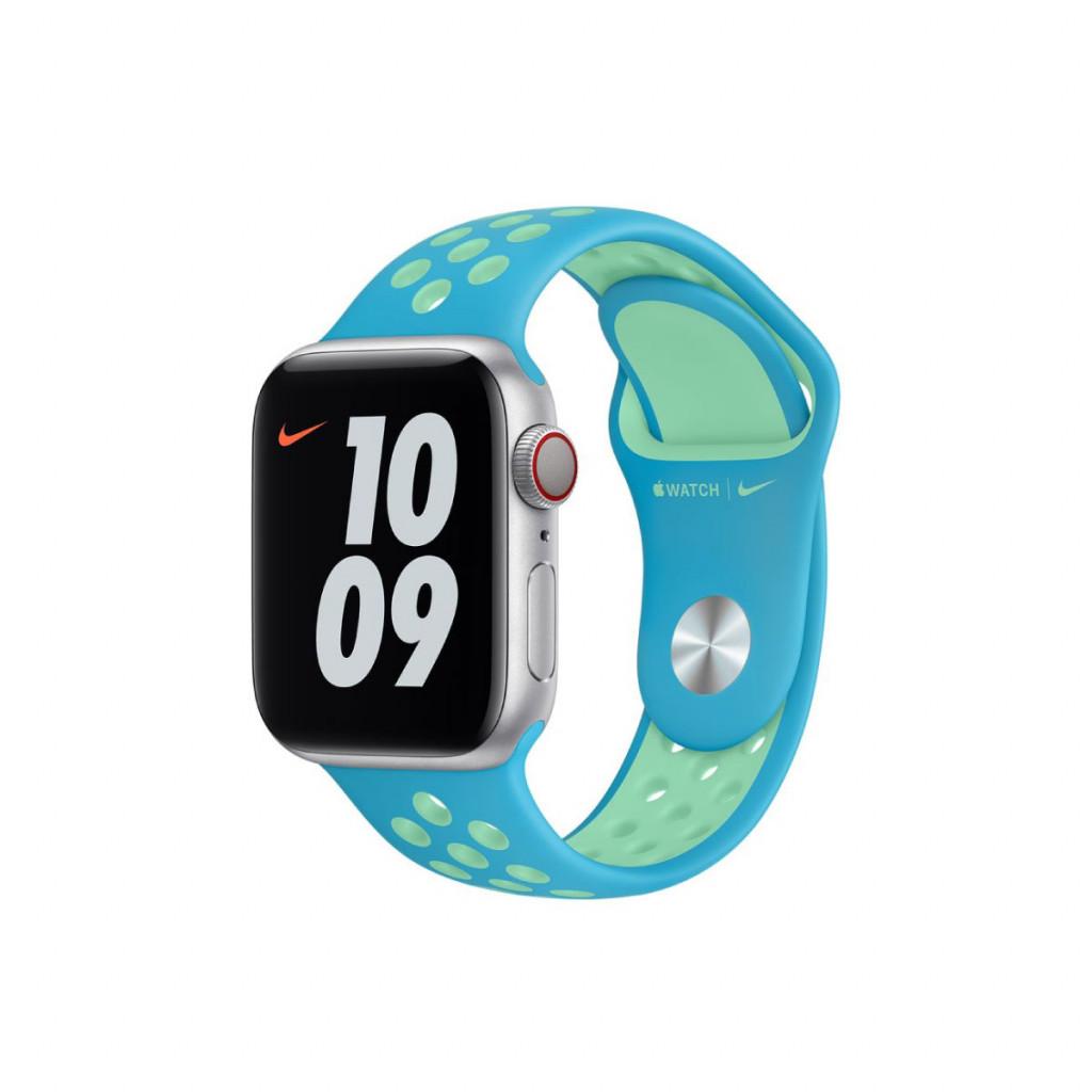 Apple Watch 40 mm Nike Sport Band - Chlorine Blue/Green Glow
