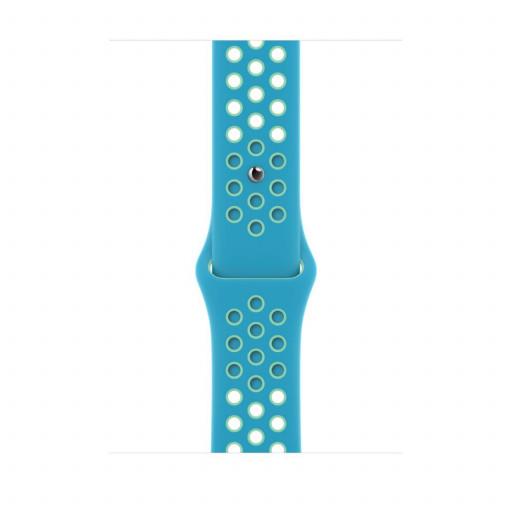 Apple Watch 44 mm Nike Sport Band - Chlorine Blue/Green Glow