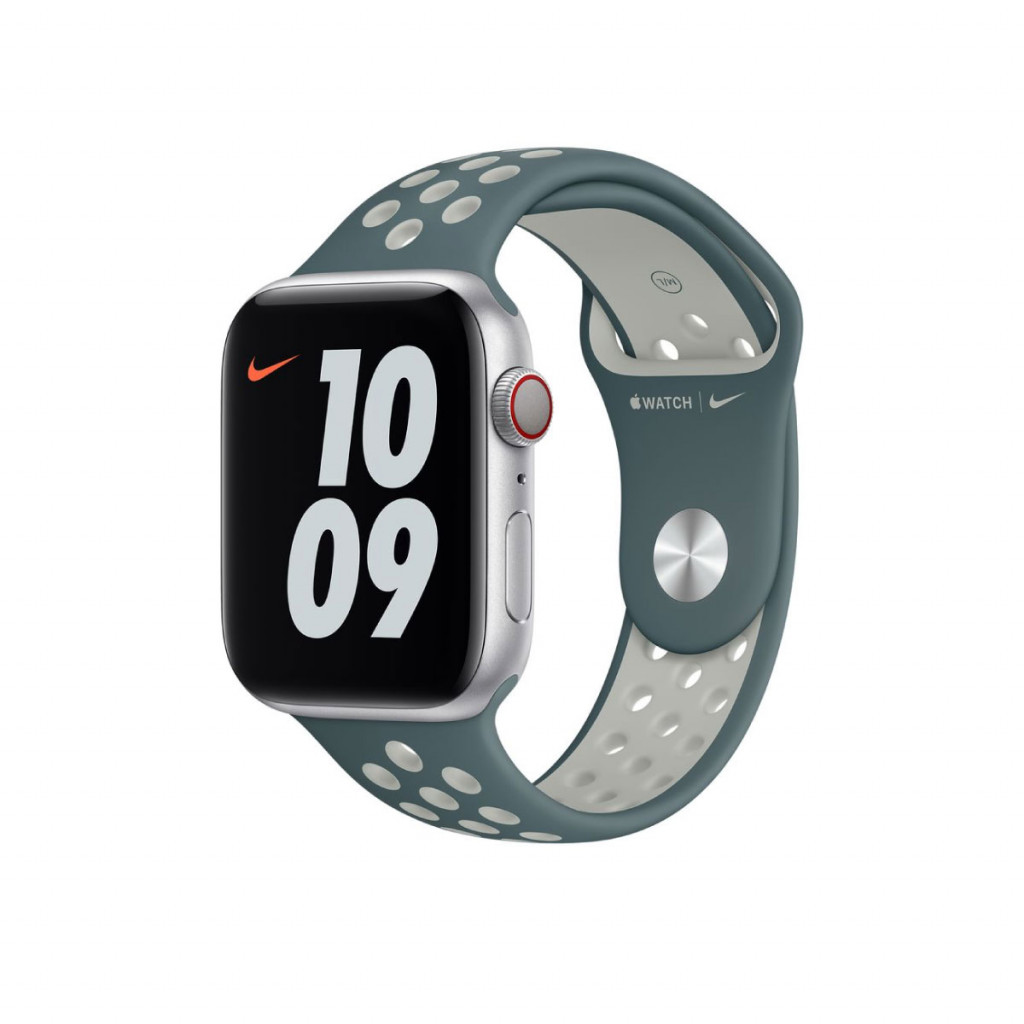 Apple Watch 44 mm Nike Sport Band - Hasta/Light Silver
