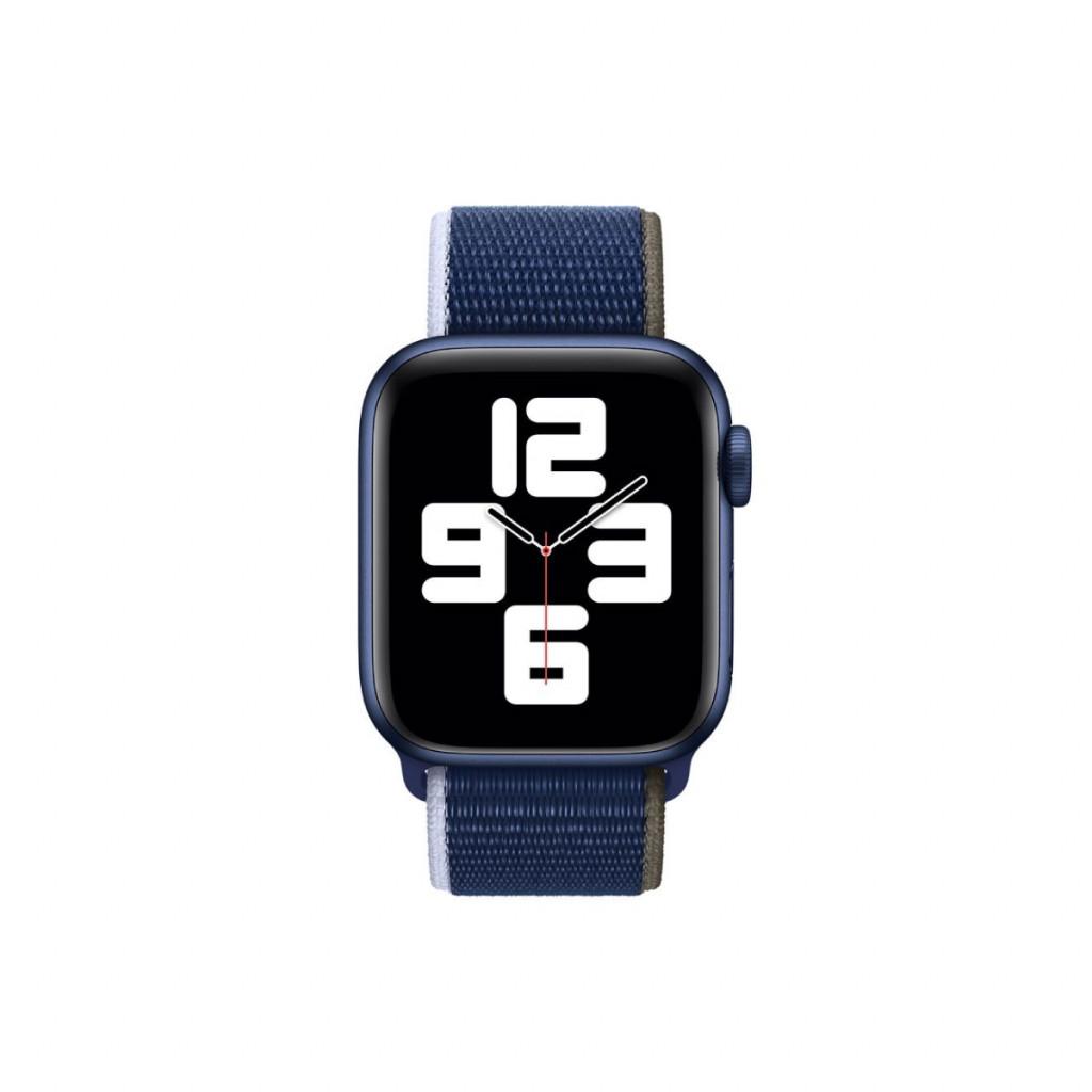 Apple Watch 40 mm Sport Loop - Dyphavsblå